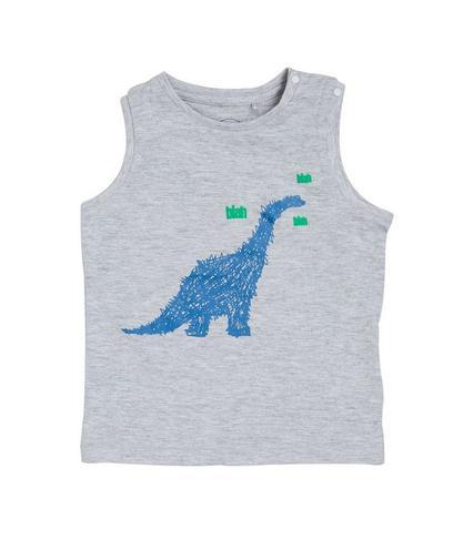Singlet met dinosaurus